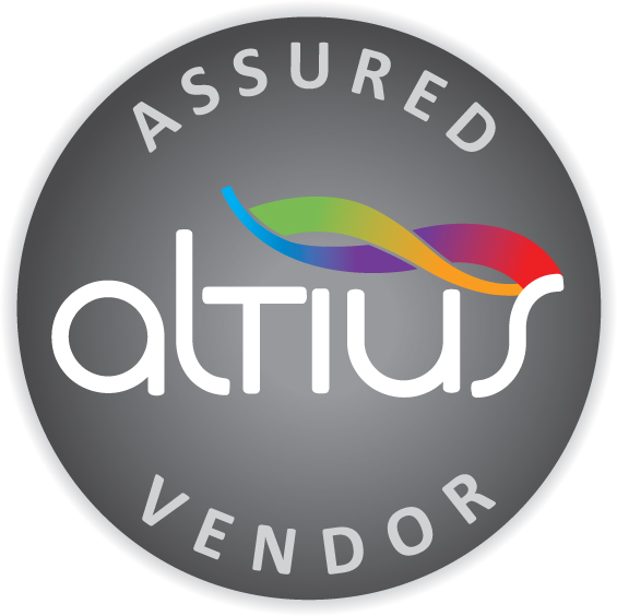 Qualitex Hygiene Services QHS Professional Accreditations Altius Assured Vendor Logo